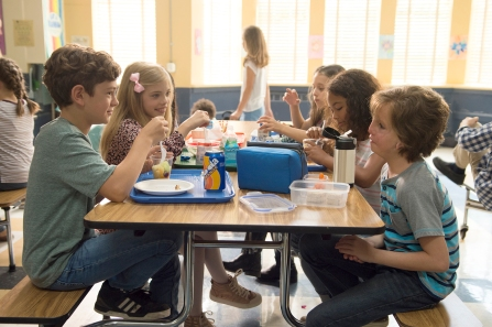 "Auggie, right, makes meaningful connections, eventually. ""Wonder"" does occasionally suffer from kid-movie pitfalls. MUST CREDIT: Dale Robinette, Lionsgate"